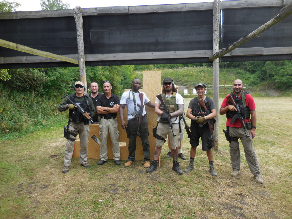 Instructors and Group