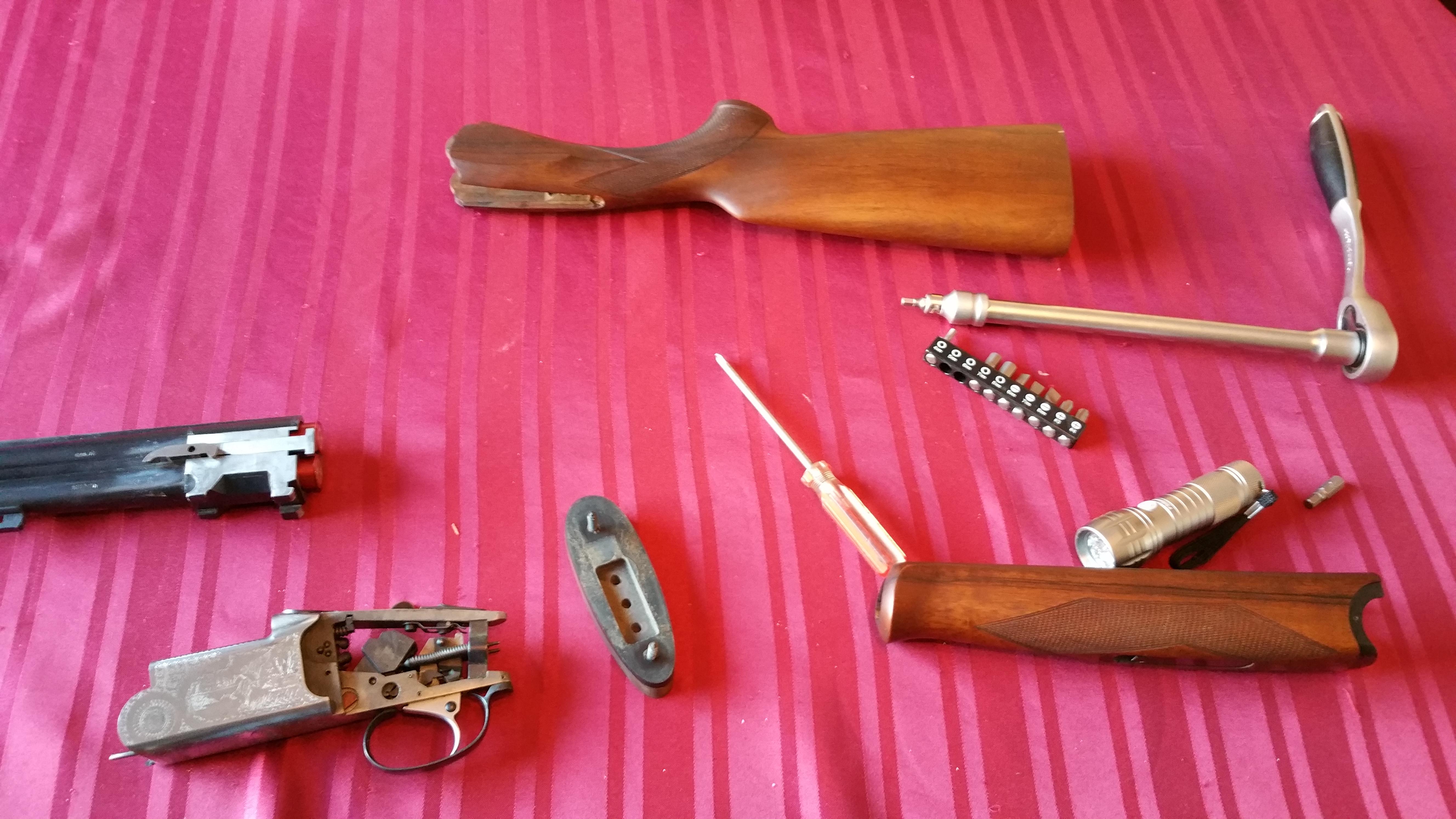 Silma Shotgun Stripping Action Repairing Ejector - Ste Gough