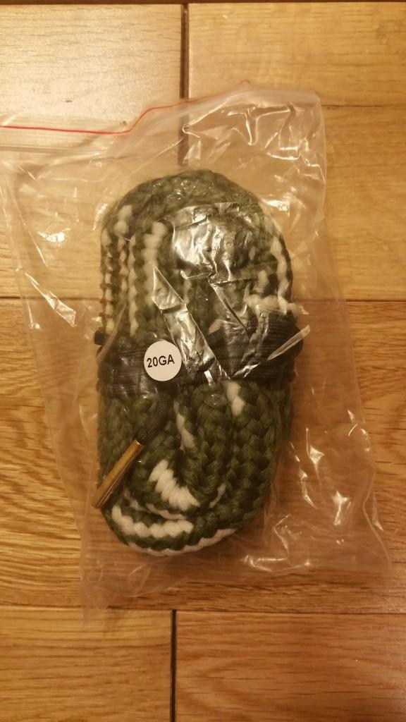 20 Gauge eBay Bore Snake Packaging