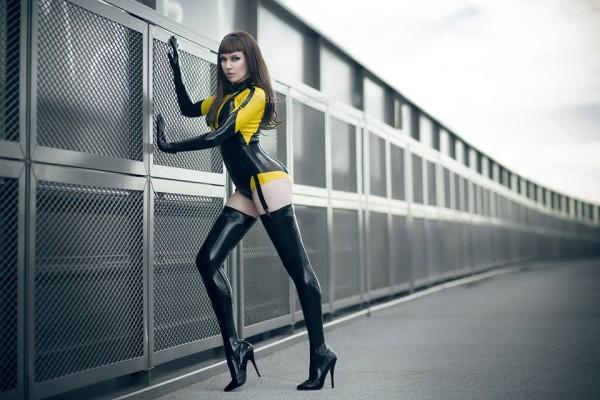 Psylocke by Belinda Bartzner Silk Spectre II