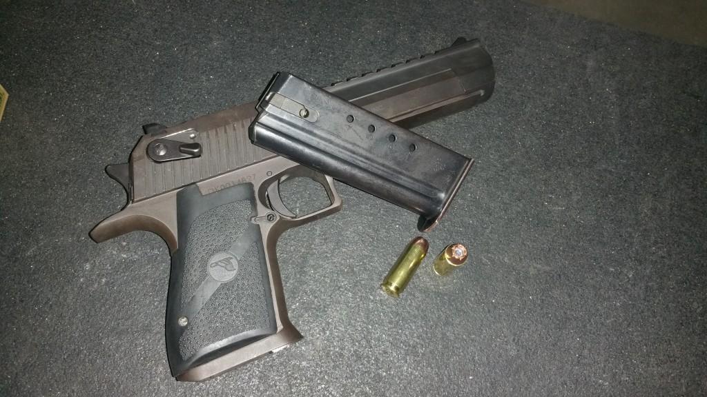 Desert Eagle .50AE - Wilshire Gun Club, Oklahoma