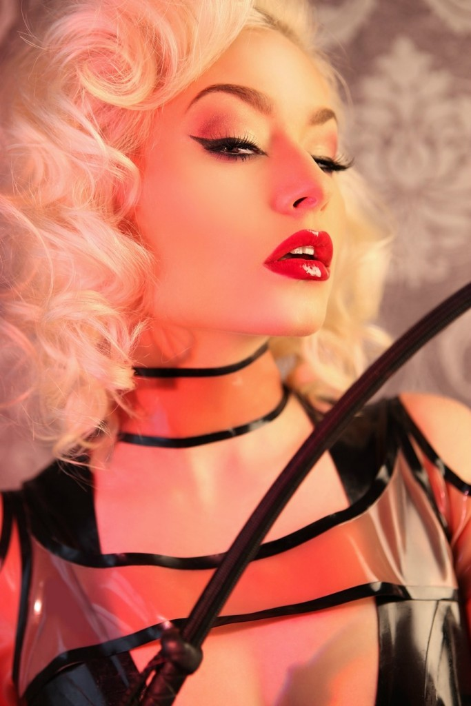 """I did my own make up in this image"" Photographed By My Boudoir"