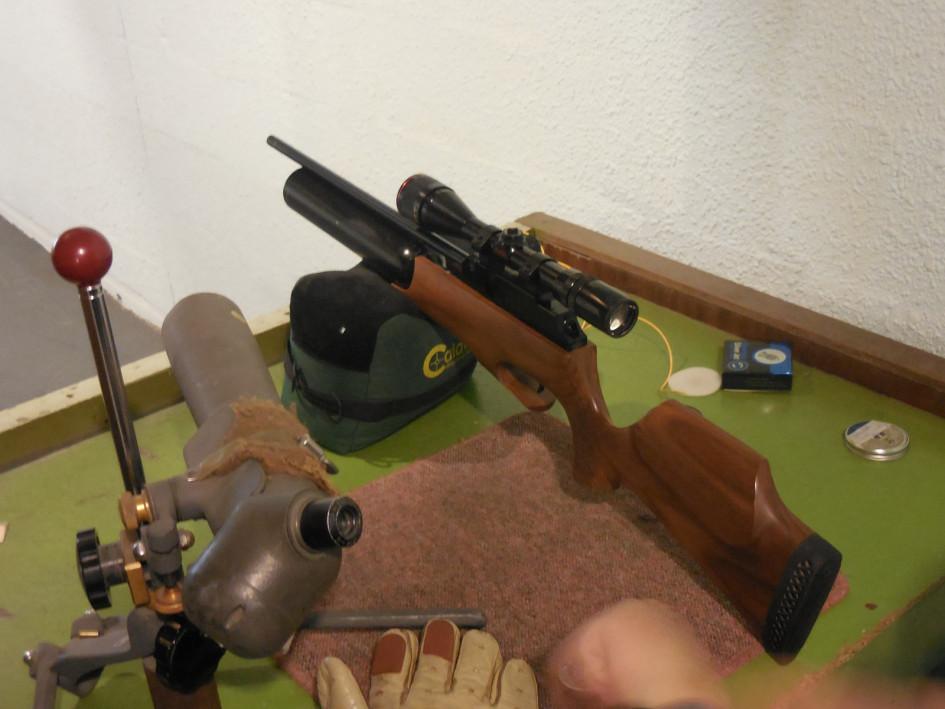 Theoben Rapid S Testing Post Airgun Doctor