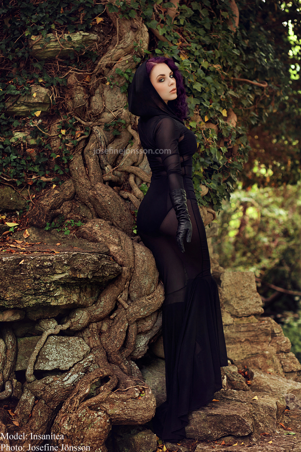"""Timeless"" - Insanitea - Dress by: Coquetry - Photo By Josefine Jönsson"