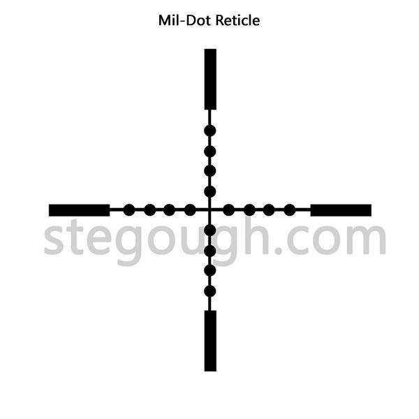 Mil-dot Reticule