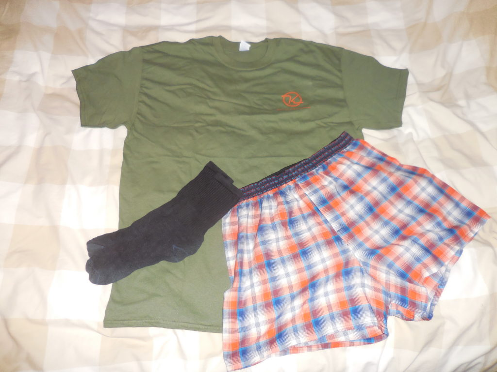 1 Day's Clothes